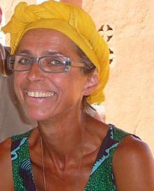 Monique Picard, adhérente toulousaine, ici à Koro , nov. 2010