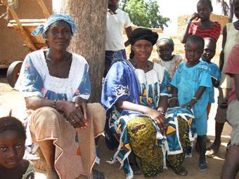 échange avec les femmes de Pomorododiou, 2-10-2011