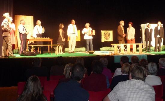 aux Arcs, dimanche 16 octobre, théâtre avec les Clameurs de l'Estran