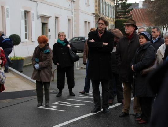à Quimperlé , le 15 janvier, le CQK présent au rassemblement