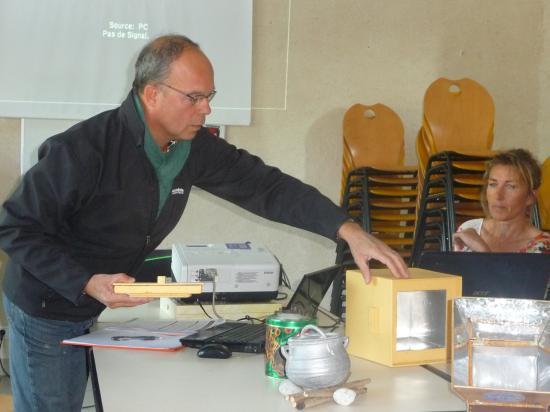 Afriq'Koro- samedi 16 avril , présentation de cuiseur solaire