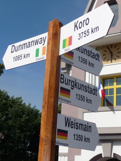 l'Arbre des jumelages ( Allemagne,Irlande,Mali), vendredi 24 juin 2011