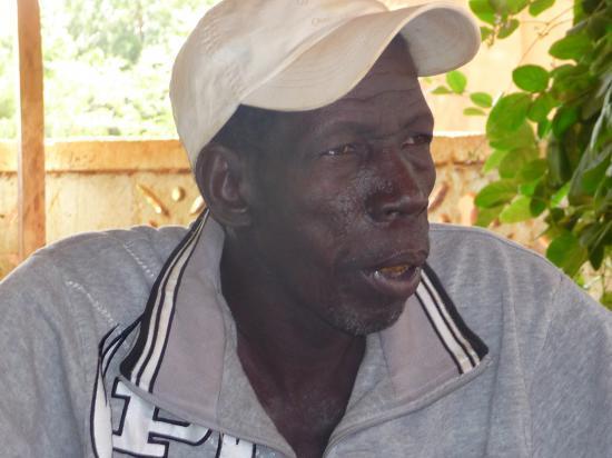 Atigueme Poudiougo, directeur de la troupe Yapoo