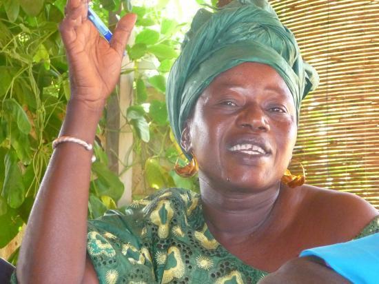 Djénéba Tessougué, vice-présidente du Comité et adjointe au maire