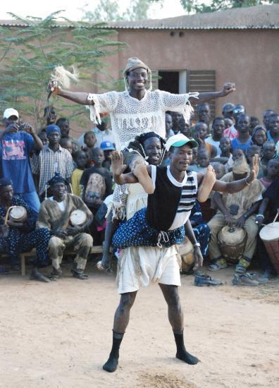 danseurs de la troupe Yanagaye