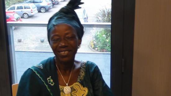octobre 2012, Djenéba Tessougué à Quéven
